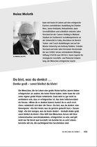 Heinz Meloth Du bist, was du denkst … PDF